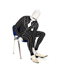 Gangster Morphsuit 20s Fancy Dress Costume for Party Festival Halloween Stag Do