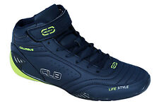 Columbus Brand Mens Planer Navy Lime Casual Sports Shoes
