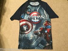 AVENGERS Endgame CIVIL WAR movie CAPTAIN America Iron Man New MEN'S T-Shirt