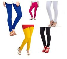 Timbre Cotton Lycra Churidar Leggings Combo Of 5