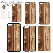 COVER  Effetto Tavole di Legno  Apple iPhone 4 5 6 Plus Case Mascherina Custodia