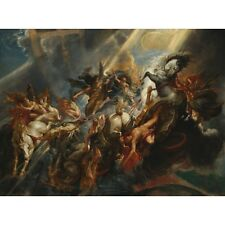 1604 Peter Paul Rubens The Fall Of Phaeton Greek Mythology Painting Art Poster