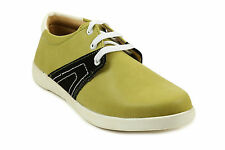 Quarks Green Casual Side Patch Lace Up For Men (Q1074GN)