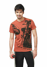 Rupa Bumchums Men's Pack of 2 Combo Printed T-Shirts.Style:1071