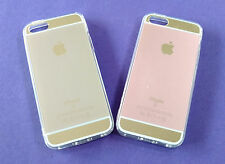 APPLE IPHONE 5/5S PREMIUM  LUXURY SILICON SOFT BACK CASE COVERS.