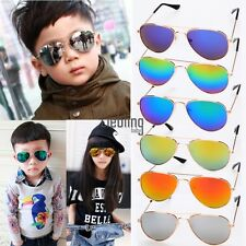 Fashion Children Kids Toddler Sunglasses Shades UV400 MIRROR LENS Boy Girl COOL!
