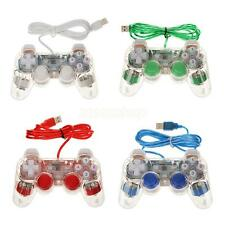 USB Game pad Gioco Controller Joypad Joystick Per Laptop PC Portatile - 4 Colori