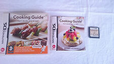 JUEGO COMPLETO COOKING GUIDE NINTENDO DS DSI 2DS 3DS XL PAL UK INGLÉS