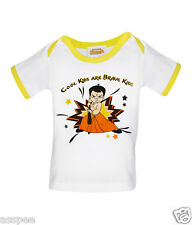 Chhota Bheem Printed Round Neck Cotton T-Shirt for Baby Boys
