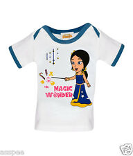 Chhota Bheem Fame Indumati Printed Round Neck Cotton T-Shirt for Baby Girls