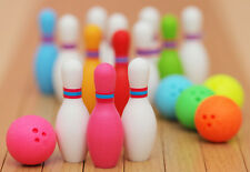 Iwako Japanese Sport Puzzle Eraser Rubber - Bowling Ball and Pins set
