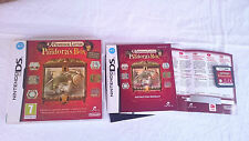 PROFESSOR LAYTON AND PANDORA´S BOX LA CAJA DE PANDORA NINTENDO DS 2DS 3DS PAL UK