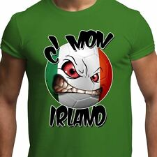 Come on Ireland Irish Football Team Euros 2016 Supporters Mens T Shirt