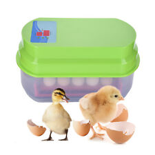 Hatching 12 Eggs Automatic Eggs Incubator Kit For Chicken Duck Reptile EU/US/UK
