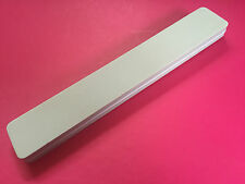 Professional Double Sided Foam File 600/600 grit buffer buffing sponge Smoothing