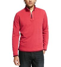 Ex M&S Marks and Spencer North Coast Men's Pure Cotton Half Zip Top RRP £39.50