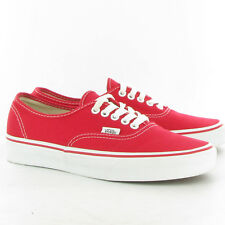 VANS scarpe AUTHENTIC red vn0ee3red MAN UOMO