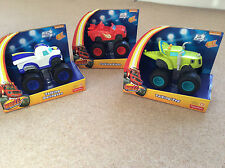 Blaze and the monster machines Talking Blaze Zeg Darington cars New