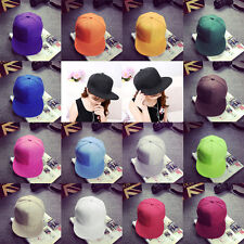 Unisex Fashion Hat Trendy Korean Hip-Hop Baseball Cap Flat-brimmed Hat DE