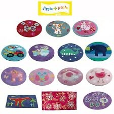 Boys Girls Children/'s Backpack or Lunch Box by Jiggle /& Giggle Owls Cars Birds