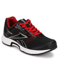 Reebok Mens Original Cruise Runner Black Red Casual Sports Shoes