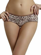 Shyle Women Coffee Animal Printed Panty-3500-Coffee