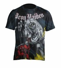 "Iron Maiden "" Number of the Beast "" Fracture Logo T-Shirt 105908 #"