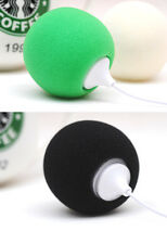 3.5mm Plug Mini Portable Spherical Stereo Audio Dock Speaker for iPhone iPad MP4