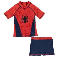 Spiderman Swimming Costume Kids Childs Boys Girls Swim Suit Top Shorts Swimsuit