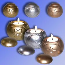 Ceramic Tealight Holder Candleholder Candle holder for tea lights Colour choice