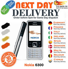 Brand New Nokia 6300 Silver Black Gold Unlocked  Mobile Phone with warranty