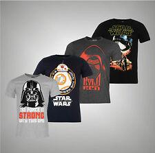 New Mens Branded Character Lightweight Star Wars  T Shirt Top Size S-XL