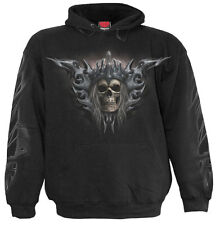 Spiral Direct DEATH'S ARMY, Hoody Black|Death|Skulls|Army|UnDead