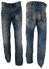Diesel Jeans Belther, Wash 0816J, Regular Slim-Tapered, DNA Mutation * RAR * NEU