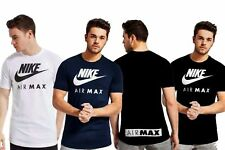 New Mens Nike Crew Neck Airmax -Casual Gym Sports Branded Cotton T-Shirt Top