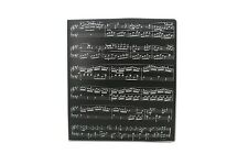 Music Themed Music Score Sheets Design  PVC Ring Binder - PVC 3 O-Ring Size 25mm
