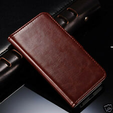 Luxury wallet stand IP5FLP-001 Pu leather case flip cover Apple iphone 5 5S