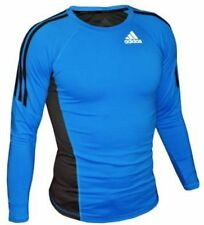 Adidas Long Sleeve Rashguard Blue