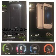 Mophie Juice Pack AIR Samsung Galaxy S6 BLACK /GOLD / WHITE 3300mAH BATTERY Case