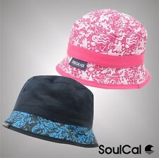 Juniors Boys Girls Branded SoulCal Summer Lightweight Soft Cape Bucket Hat