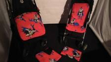 batman super hero dc stay put blanket/footmuff or pram liner red black grey blue