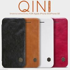 NILLKIN Qin Series Elegant Leather Case Flip Cover For iPhone SE 5s 5