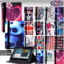 """For Samsung Galaxy Tab 8"""" Models Tablet - NEW FOLDING LEATHER STAND CASE COVER"""