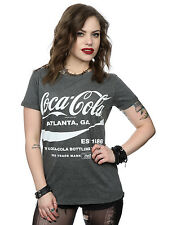 Coca Cola Women's Drink 1886 Roll Sleeve T-Shirt