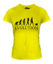 JAPANESE CHIN EVOLUTION OF MAN LADIES T-SHIRT TEE TOP DOG LOVER GIFT WALKER