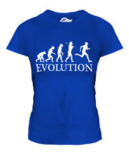 ORIENTEERING EVOLUTION OF MAN LADIES T-SHIRT TEE TOP GIFT CLOTHING