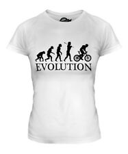 MOUNTAIN BIKE EVOLUTION OF MAN LADIES T-SHIRT TEE TOP GIFT CLOTHING