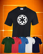 Star Wars Galactic Empire Printed  T-Shirt Colour ,Size and Print Colour Choice