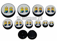 Despicable Me Ear Ring Plug Stretcher in Sizes: 6 to 25 mm
