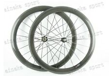 Light 700C ALL SIZE  Clincher Tubular Road Bike Carbon Wheels 20.5mm/23mm Width